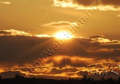 Закат, альбом Природа Тулуна и нашего региона